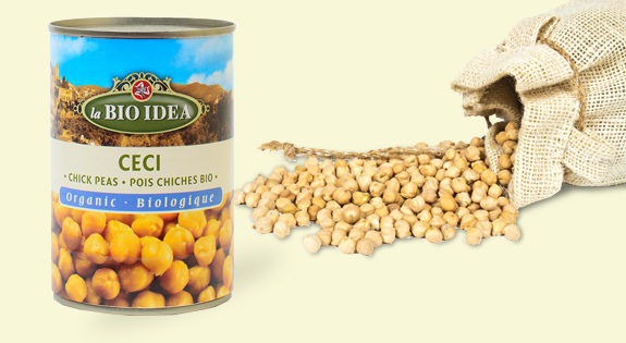 La BIO IDEA chick peas